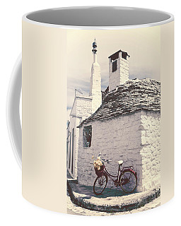 Red Bicycle Coffee Mug