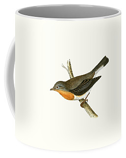 Red Breasted Flycatcher Coffee Mug