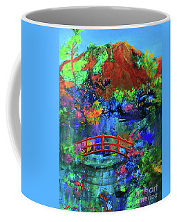 Red Bridge Dreamscape Coffee Mug