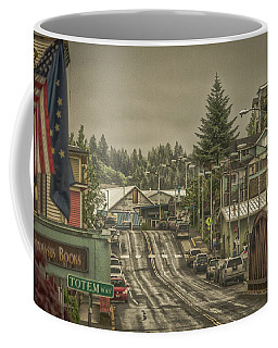 Red Bridge Haze Coffee Mug