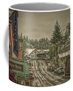 Red Bridge Haze Coffee Mug by Timothy Latta