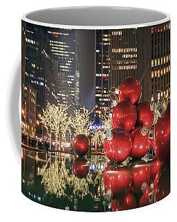 Red Bubbles Coffee Mug