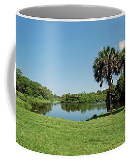 Coffee Mug featuring the photograph Red Bug Slough by Gary Wonning