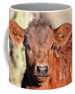 Red Calf Coffee Mug