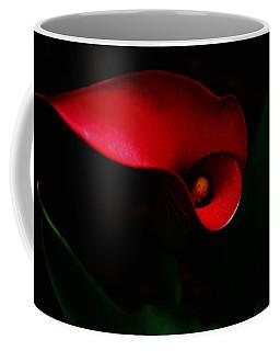 Red Calla Lilly Coffee Mug