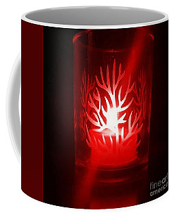 Red Candle Light Coffee Mug
