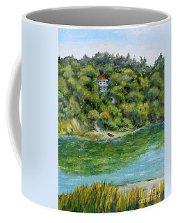 Red Canoe Coffee Mug by William Reed