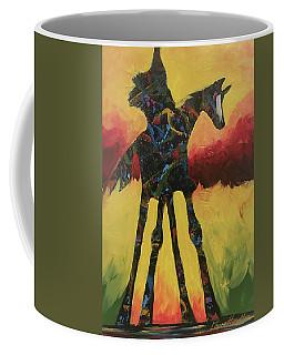Red Canyon Warrior Coffee Mug