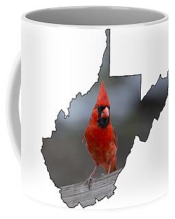 Red Cardinal Looking For Food Coffee Mug