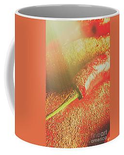 Red Cayenne Pepper In Spicy Seasoning Coffee Mug