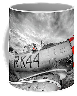 Red Checkers Coffee Mug