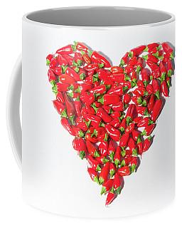 Red Chillie Heart II Coffee Mug