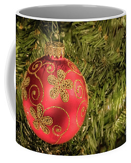 Red Christmas Ornament Coffee Mug