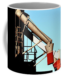 Coffee Mug featuring the photograph Red Chutes by Stephen Mitchell
