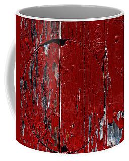 Red Circle Coffee Mug