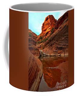 Red Cliffs Reflections Coffee Mug