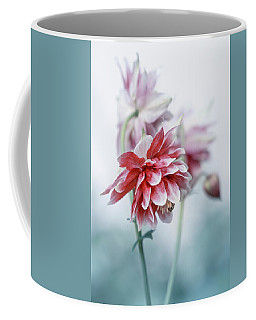 Red Columbines Coffee Mug