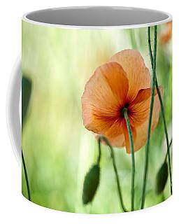 Red Corn Poppy Flowers 02 Coffee Mug