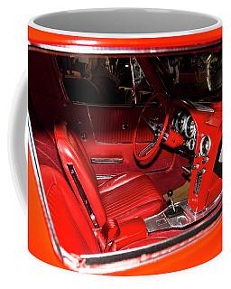 Red Corvette Stingray Coffee Mug