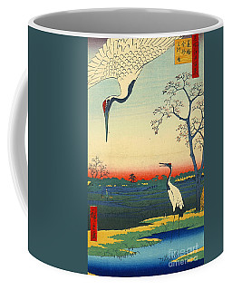 Red Crowned Cranes 1857 Coffee Mug