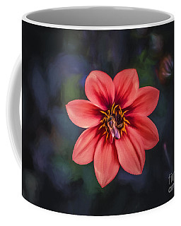 Red Dahlia     Go3 Coffee Mug