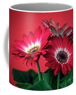 Red Daisies #5 Coffee Mug