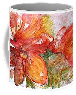 Red Dance Coffee Mug by Jasna Dragun