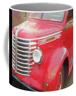 Coffee Mug featuring the digital art Red Diamond by David King