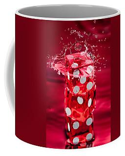 Red Dice Splash Coffee Mug