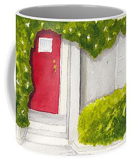 Red Door Morning Light 2 Coffee Mug