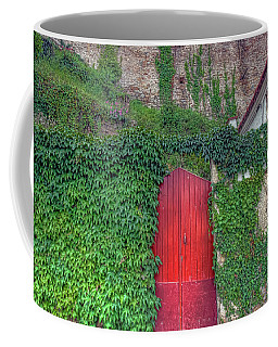 Red Door Coffee Mug
