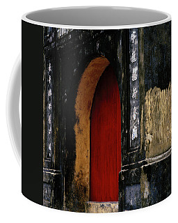 Red Doorway Coffee Mug by Shaun Higson
