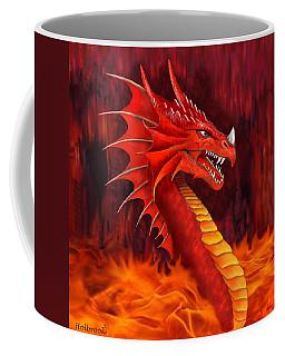 Red Dragon Terrifier Coffee Mug