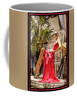 Coffee Mug featuring the photograph Red Dress - Chuck Staley by Chuck Staley