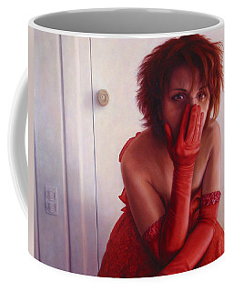 Red Dress Coffee Mug