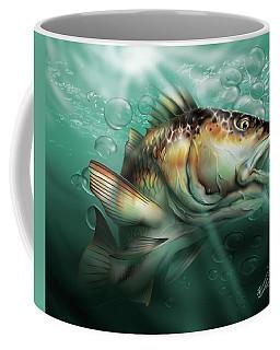 Red Drum Coffee Mug by William Love