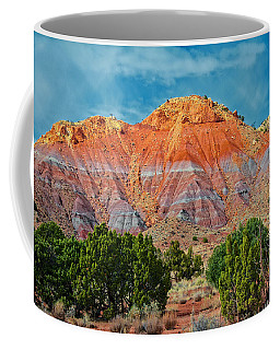 Painted Red Earth Coffee Mug