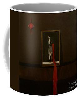 Red Echo Coffee Mug by Fei A
