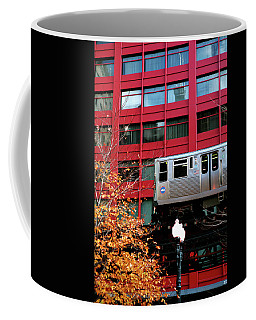 Red El - Chicago Coffee Mug