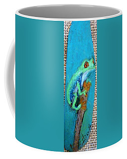 Red-eyed Tree Frog Coffee Mug by Ann Michelle Swadener
