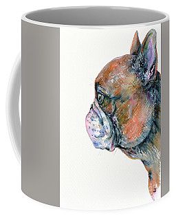 Red Fawn Frenchie Coffee Mug