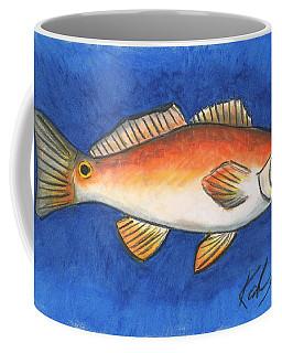 Red Fish Coffee Mug