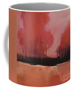 Red Flair Coffee Mug