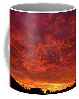Red Flame Coffee Mug by Mark Blauhoefer