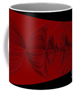 Red And Black Design Coffee Mug