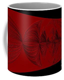 Red And Black Design. Art Coffee Mug