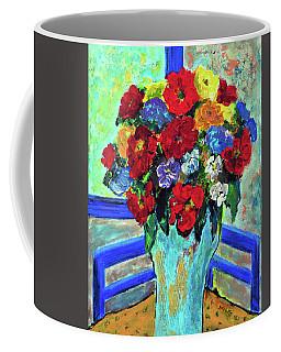 Red Flowers You Brought Coffee Mug