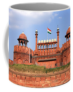 Red Fort New Delhi Coffee Mug