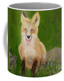 Red Fox 2 Coffee Mug