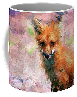 Coffee Mug featuring the digital art Red Fox  by Claire Bull